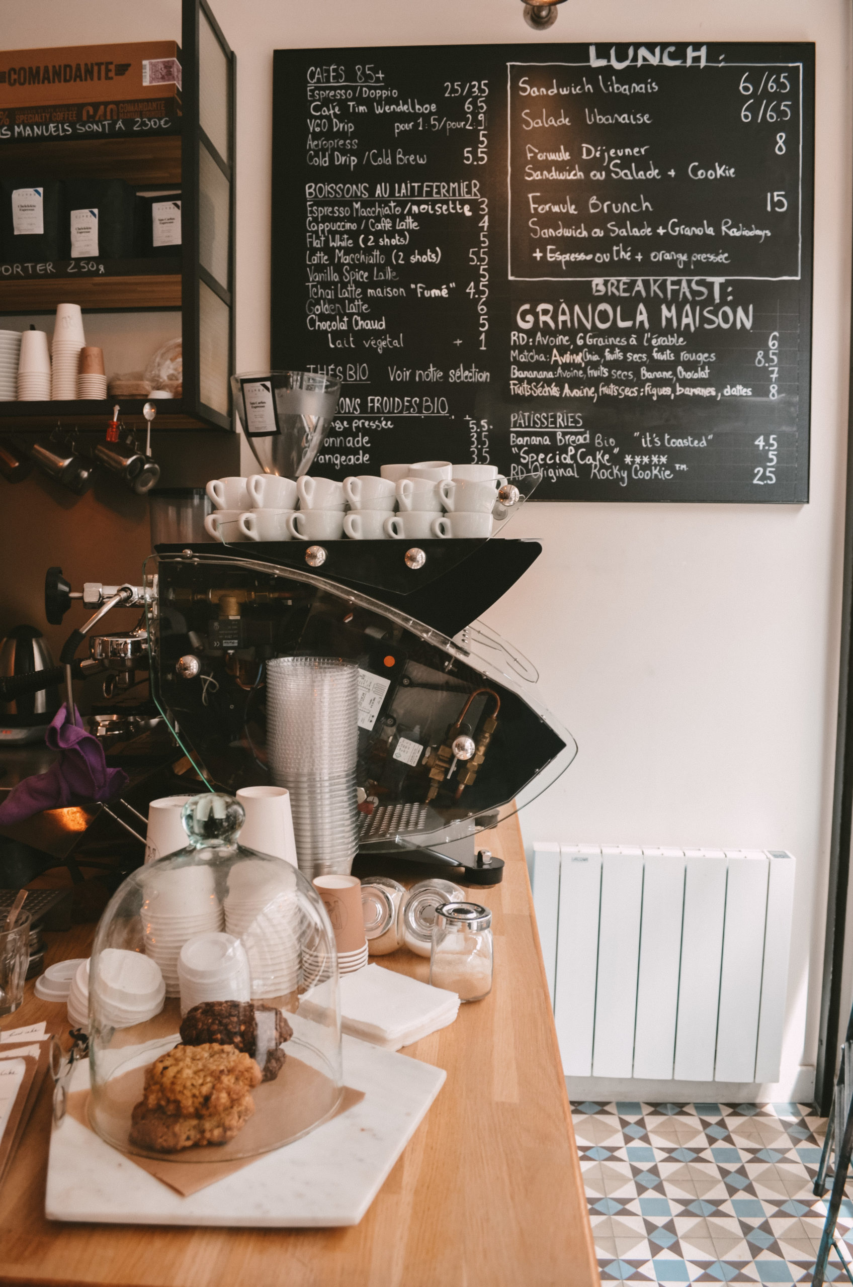 Radiodays : le coffee shop cosy et healthy de Paris